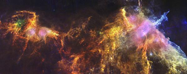 Perierga.gr - Κοσμικό άλογο καλπάζει στα 1.300 έτη φωτός
