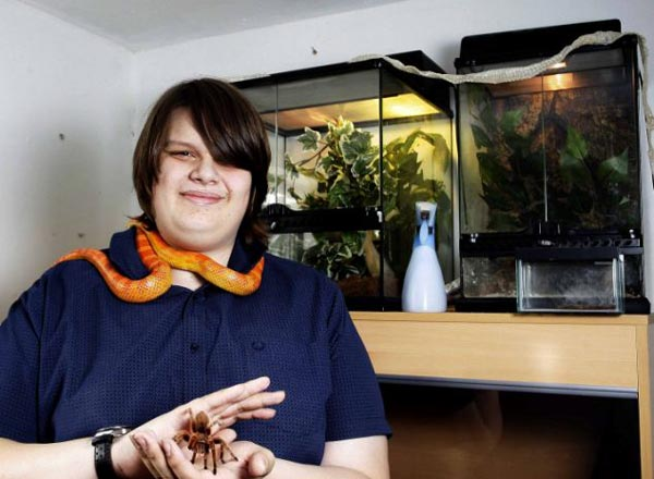 "perierga.gr - Δεκαεξάχρονος ζει με 300 ""κατοικίδια""!"