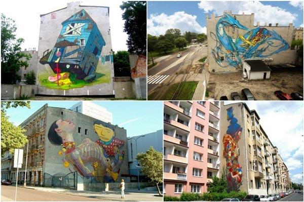 perierga.gr - Η πόλης της... τέχνης του δρόμου!