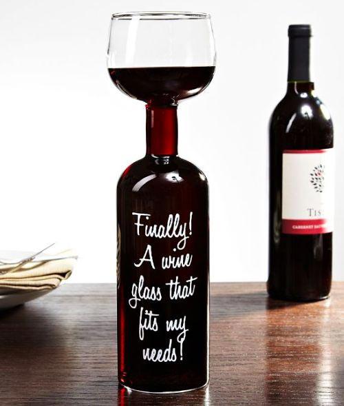 """perierga.gr - """"Επιτέλους ένα ποτήρι κρασιού που ταιριάζει στις ανάγκες μου""""!"""
