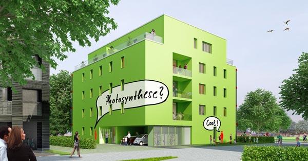 perierga.gr - Το πρώτο κτήριο που τροφοδοτείται από φύκια!