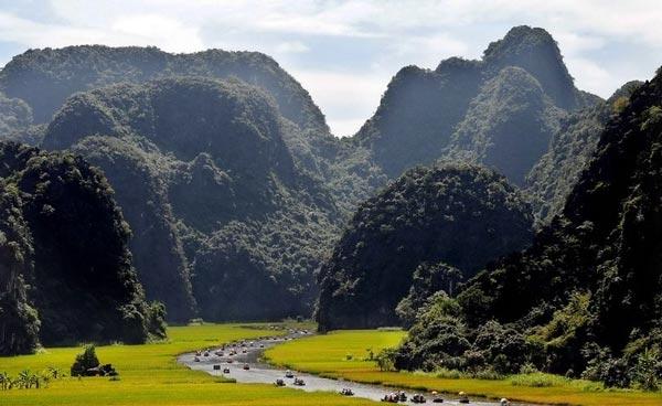 perierga.gr - Μαγευτική διαδρομή στους ορυζώνες του Βιετνάμ!