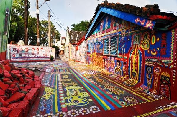 Taichung: Ένα χωριό γεμάτο σχέδια και χρώματα!