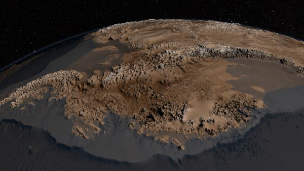 perierga.gr - Γυμνή ήπειρος: Η Ανταρκτική χωρίς πάγους (βίντεο)
