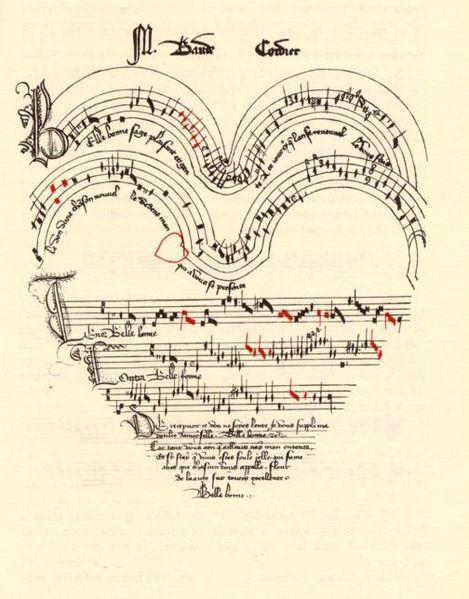 perierga.gr - Ένα τραγούδι αγάπης γραμμένο σε σχήμα καρδιάς!