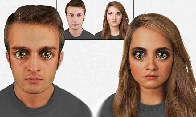 perierga.gr - Το ανθρώπινο πρόσωπο του μέλλοντος!