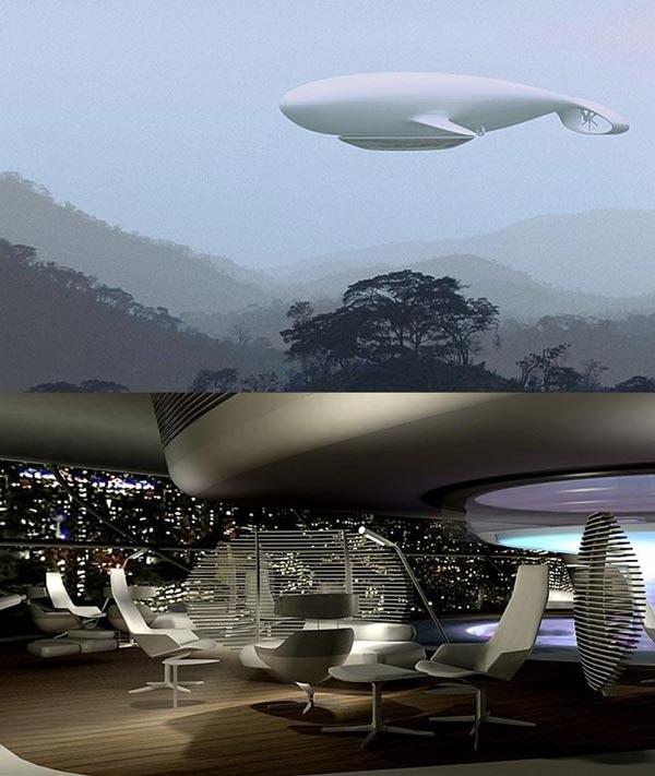 perierga.gr - Manned Cloud: Ένα ιπτάμενο ξενοδοχείο!