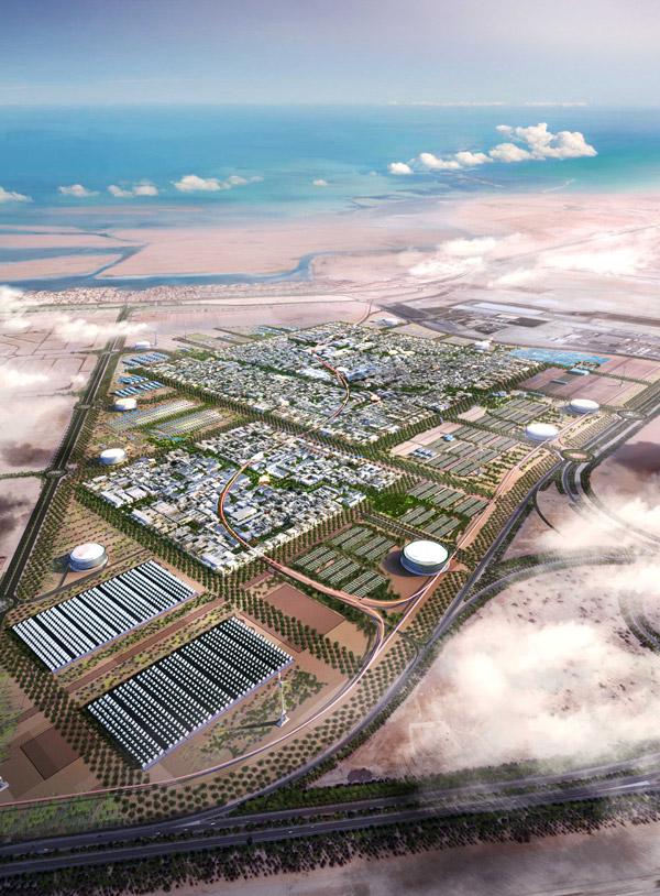 "perierga.gr - Masdar City: Μια ""πράσινη"" πόλη στο κέντρο της ερήμου!"