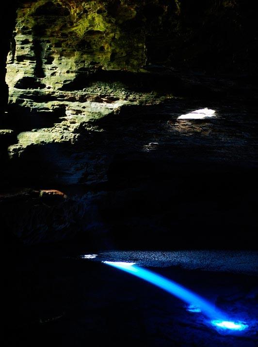 perierga.gr - Chapada Diamantina: Γαλάζιες φυσικές πισίνες μέσα σε σπηλιές!