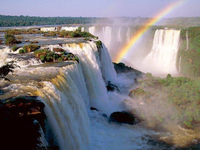 perierga.gr - Iguazu Falls: 275 διαφορετικοί καταρράκτες σε ένα σημείο!