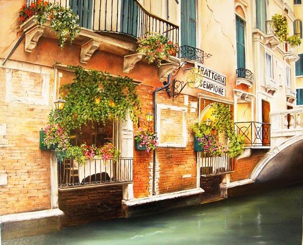 perierga.gr - Κουκλίστικο καφέ στα κανάλια της Βενετίας!
