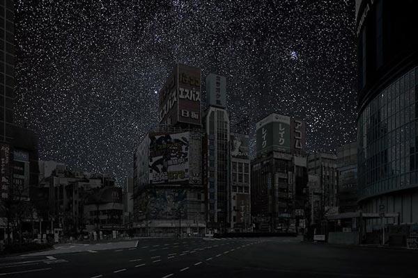 perierga.gr - Πόλεις στο σκοτάδι!