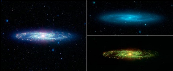 Perierga.gr - Δέκα χρόνια ανακαλύψεων σε εικόνες του τηλεσκοπίου Spitzer
