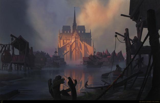 Perierga.gr - Όταν η Disney εμπνέεται από πραγματικά τοπία!