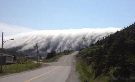 "Perierga.gr - Ομίχλη ""καταπίνει"" ολόκληρη πόλη"