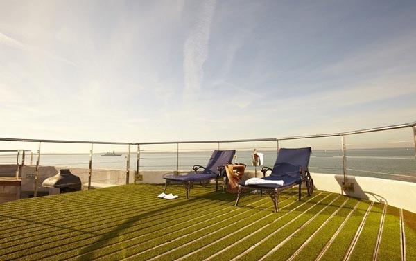 perierga.gr - Υπερπολυτελές ξενοδοχείο μέσα σε θαλάσσιο οχυρό!