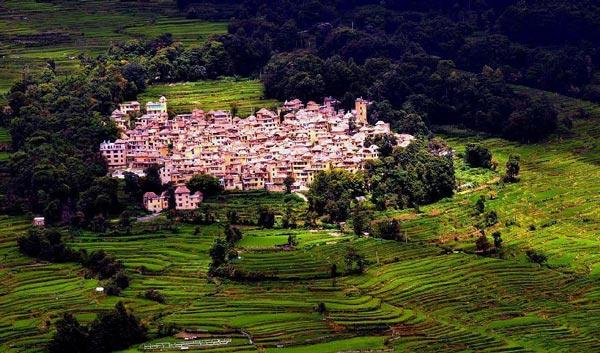 perierga.gr - Hani: Το εκπληκτικό χωριό των ορυζώνων!