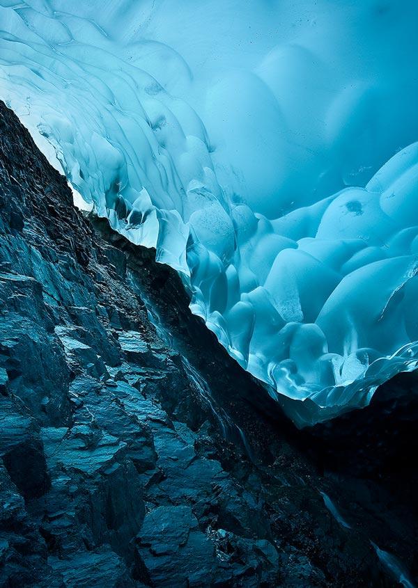 perierga.gr - Συναρπαστικές φωτογραφίες μέσα από τον παγετώνα!