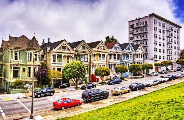 perierga.gr - Τα διάσημα βικτωριανά σπίτια του Σαν Φρανσίσκο!