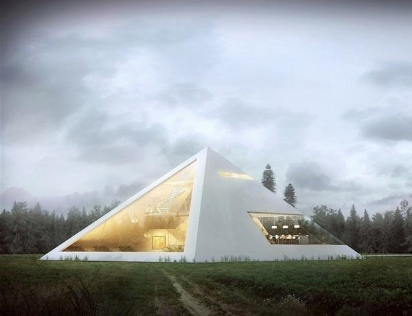 perierga.gr - Απίθανο σπίτι-πυραμίδα κερδίζει τις εντυπώσεις!