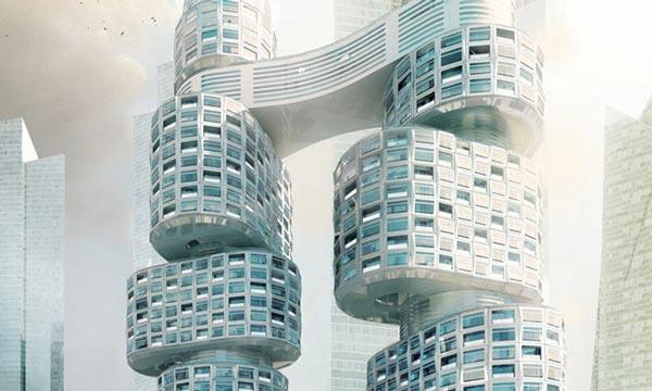 perierga.gr - Velo Tower: Ένα περιστρεφόμενο σύμπλεγμα κατοικιών!