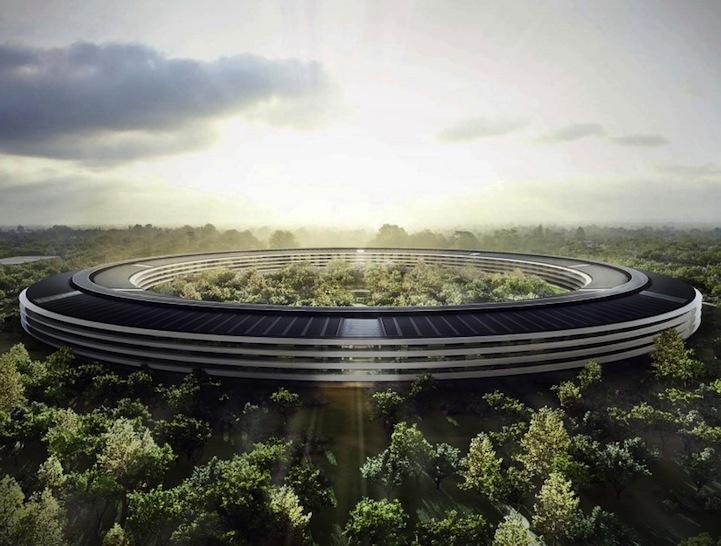perierga.gr - Τα νέα κεντρικά γραφεία της Apple εντυπωσιάζουν!