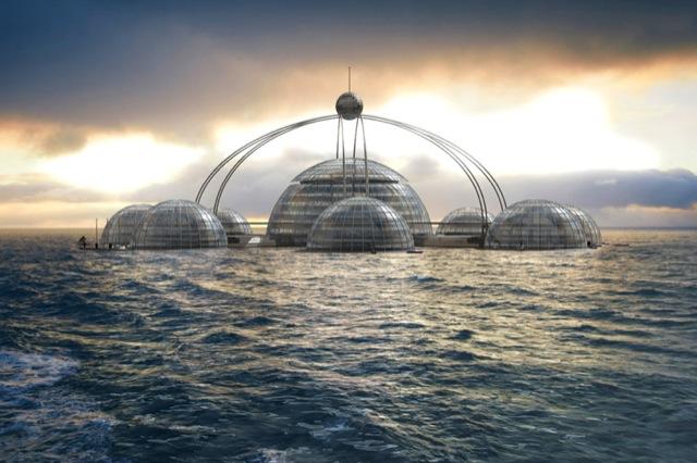 perierga.gr - Υποβρύχιο ξενοδοχείο επιστημονικής φαντασίας!