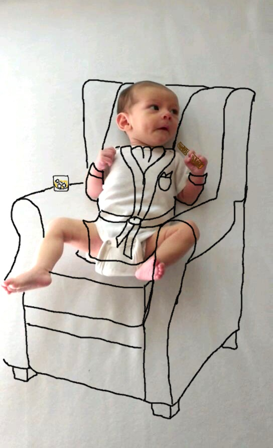 perierga.gr - Όταν η μαμά έχει… καλλιτεχνική φλέβα!