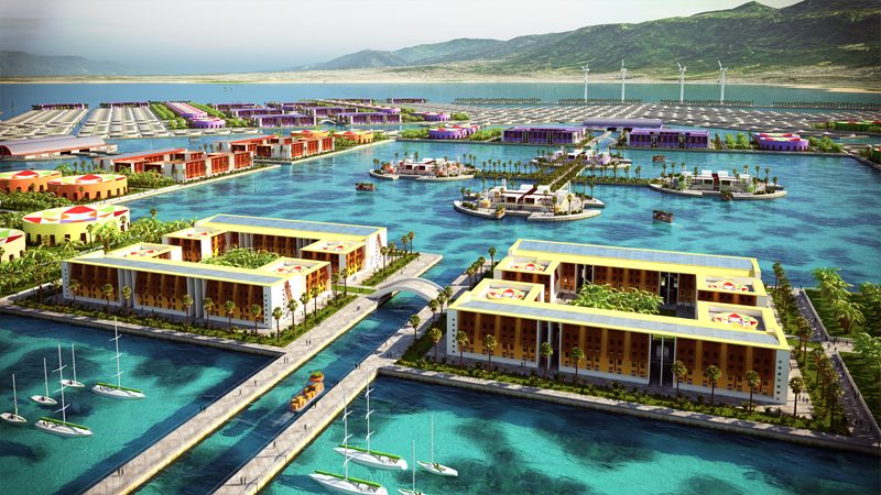 perierga.gr - Πλωτή πόλη 30.000 κατοίκων στις ακτές της Αϊτής!