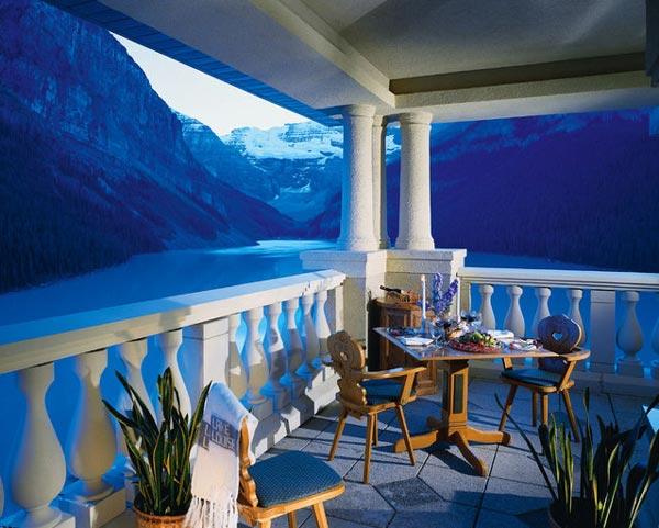 perierga.gr - Η εκπληκτική λίμνη Louise στον Καναδά!