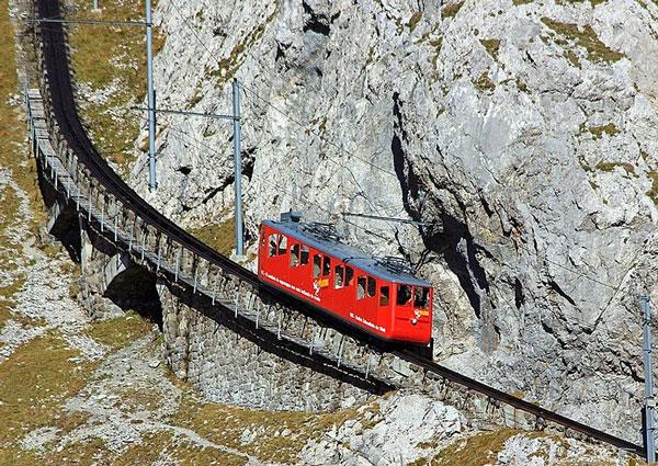 Η πιο απότομη σιδηροδρομική γραμμή στον κόσμο!