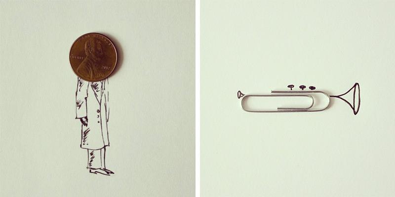 perierga.gr - Παιδικά σχέδια αναμειγνύονται με καθημερινά αντικείμενα!
