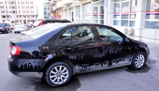 perierga.gr - Απίθανα έργα τέχνης σε… σκονισμένα αυτοκίνητα!