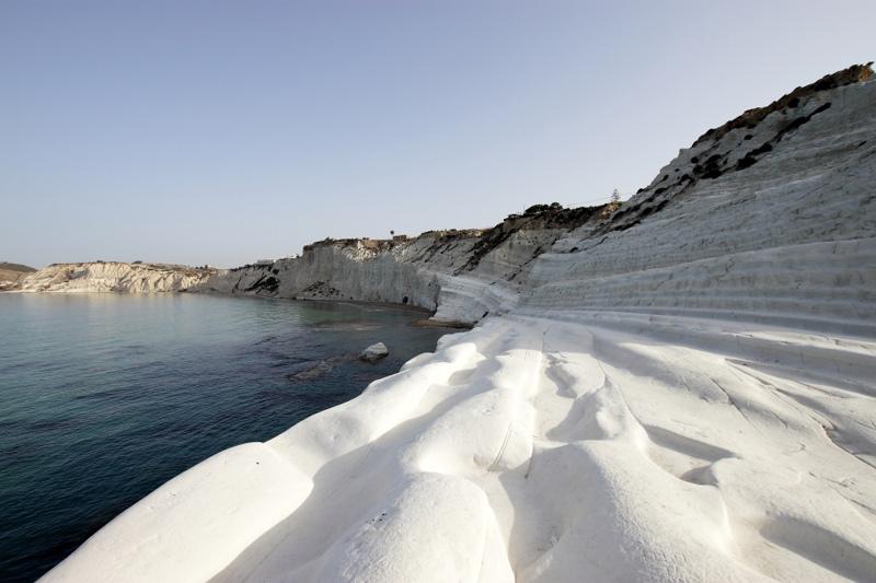 perierga.gr - Τα «τούρκικα σκαλοπάτια» της Σικελίας!