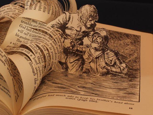perierga.gr - Εντυπωσιακές δημιουργίες στις σελίδες ενός βιβλίου!