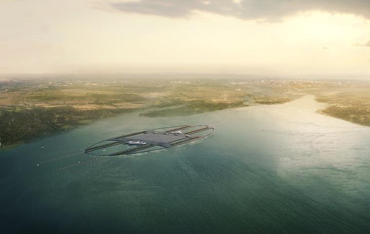 perierga.gr - Το νέο αεροδρόμιο της Βρετανίας θα επιπλέει στον Τάμεση!