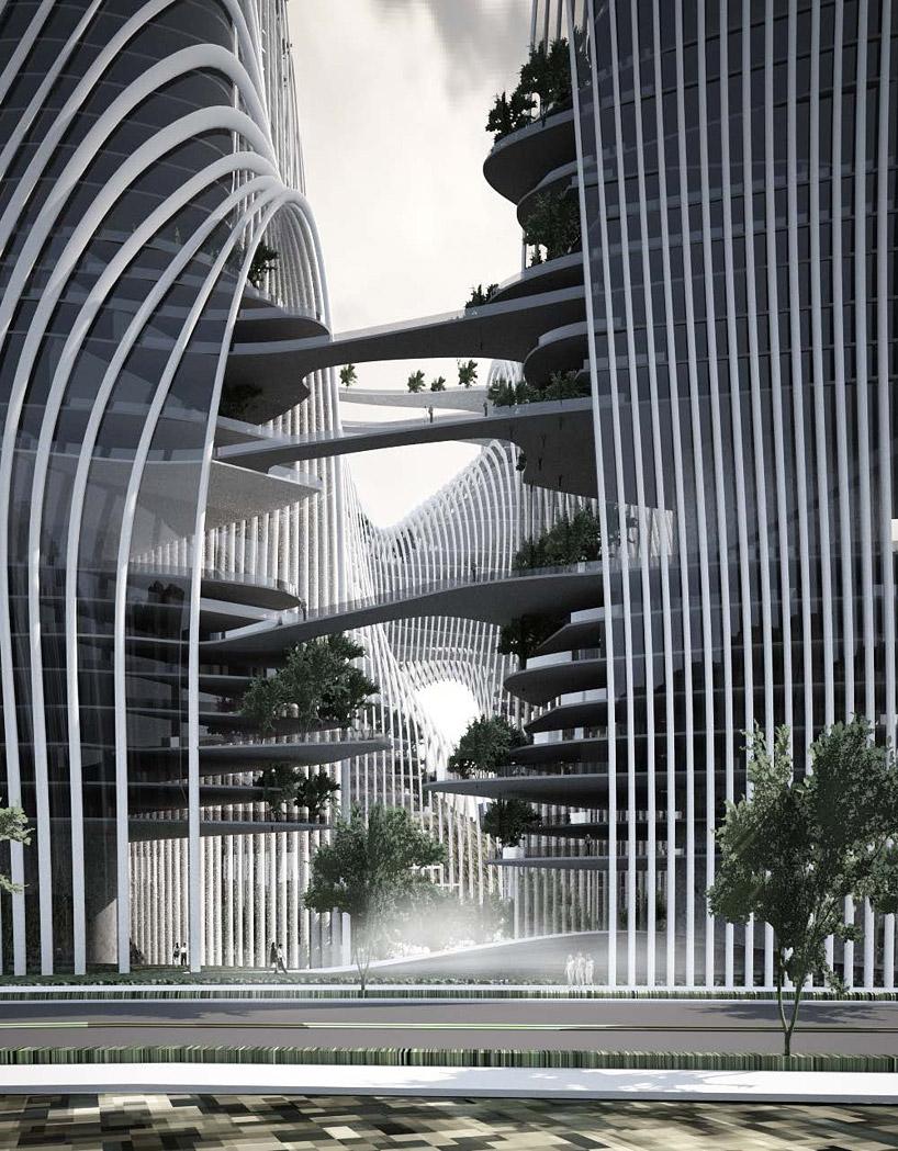 perierga.gr - Shan-shui: Η φουτουριστική πόλη της Κίνας!