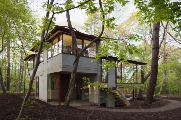 perierga.gr- 30 γοητευτικές κατοικίες στο δάσος!