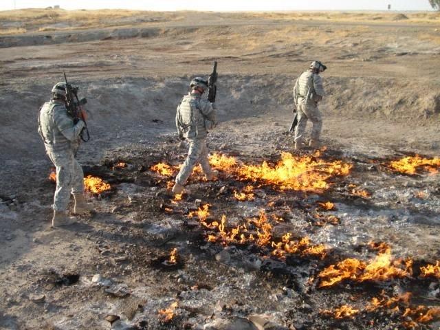 perierga.gr - Φωτιά καίει πάνω από 4.000 χρόνια!