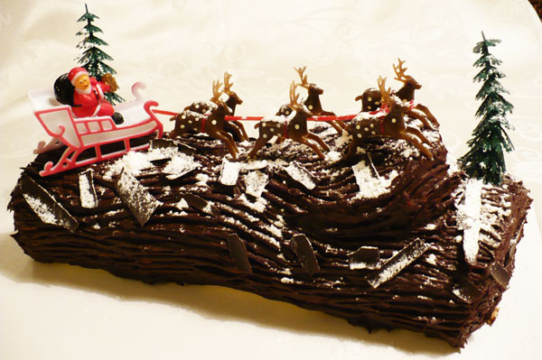 perierga.gr - Buche de Noël: Εντυπωσιακοί χριστουγεννιάτικοι κορμοί!