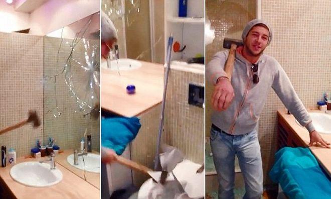 Perierga.gr - Έσπασε το διαμέρισμα, επειδή δεν του επέστρεψαν την εγγύηση!