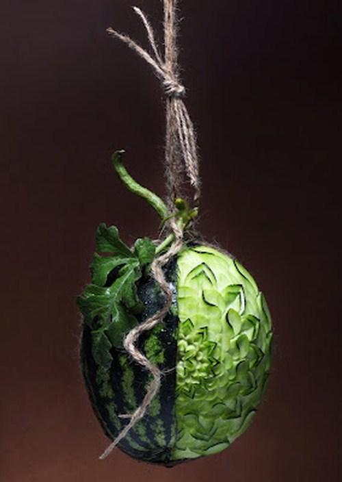 perierga.gr - Εντυπωσιακά σκαλισμένα λαχανικά & φρούτα!