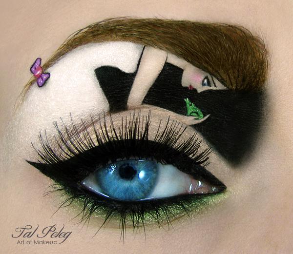perierga.gr - Μακιγιάζ ματιών με φαντασία!