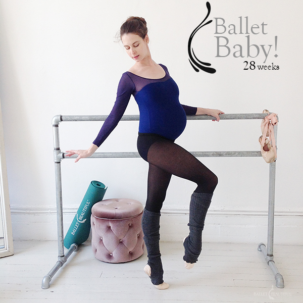 perierga.gr - Έγκυος 9 μηνών... μπαλαρίνα!