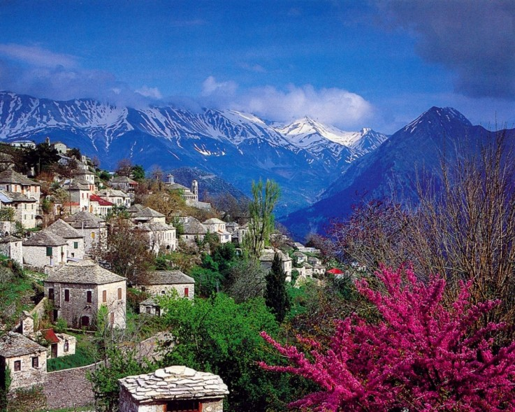 perierga.gr - 15+1 πανέμορφα ορεινά χωριά της Ελλάδας