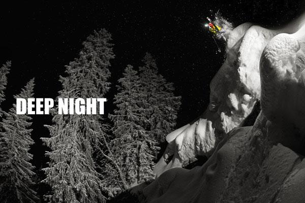 perierga.gr - Κάνοντας σκι τη νύχτα (βίντεο)!