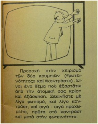perierga.gr - Απίστευτες οδηγίες χρήσης για την Ελληνική τηλεόραση το 1966!