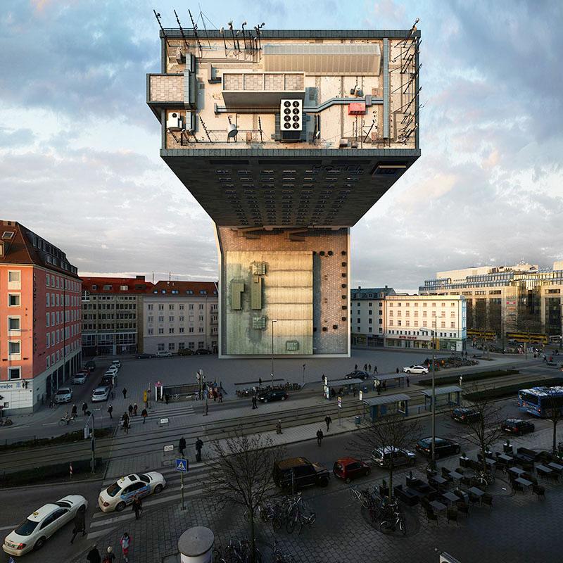 perierga.gr - Το ίδιο κτήριο φωτογραφίζεται σε 10 διαφορετικές θέσεις!
