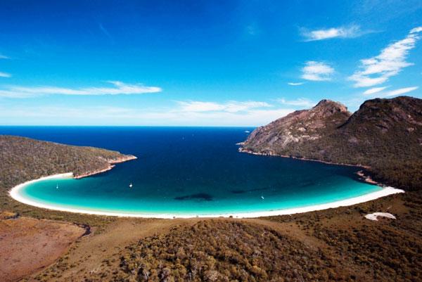 perierga.gr - Η διάσημη παραλία... «κρασοπότηρο» στην Αυστραλία!
