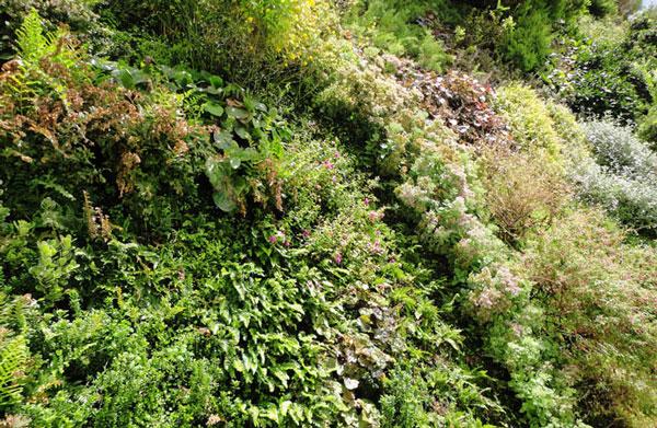 """perierga.gr - Ο νέος πανέμορφος """"κάθετος"""" κήπος του Patrick Blanc!"""